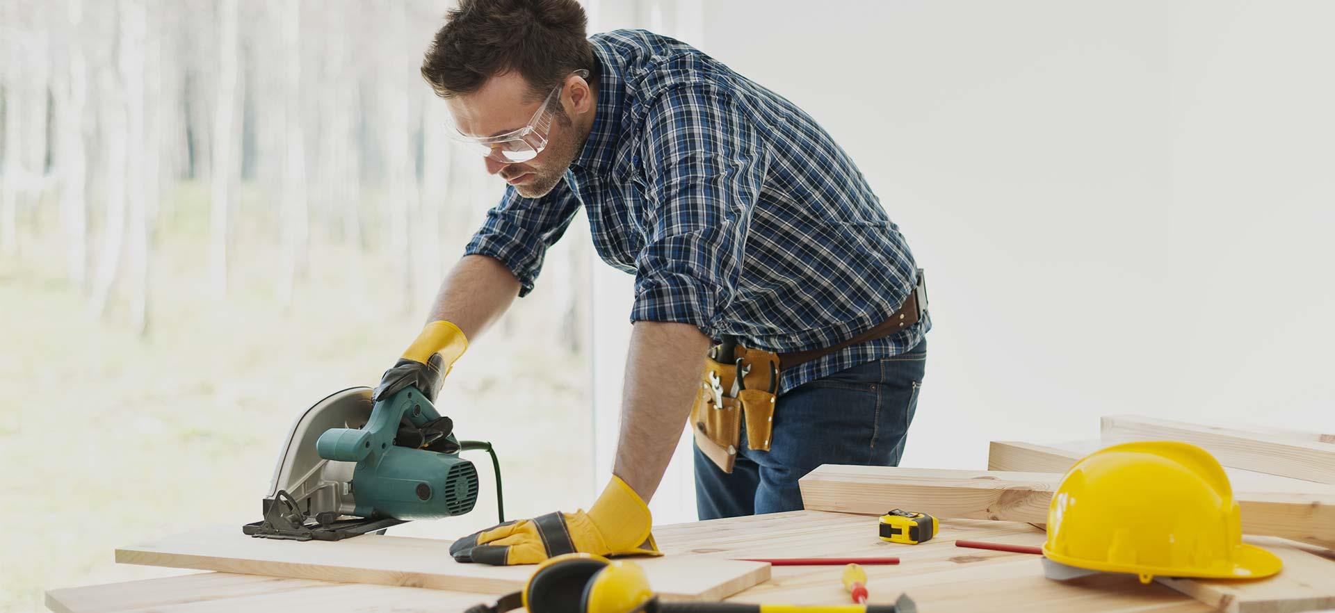 Instalación de madera
